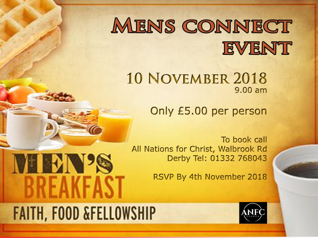 Men's Connect Breakfast Event