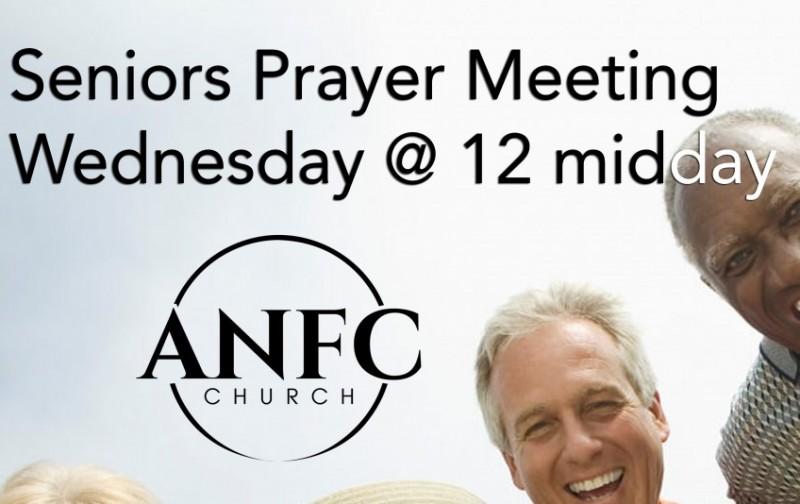 Seniors Weekly Prayer Meeting